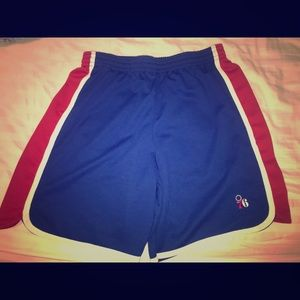 Philadelphia 76ers Basketball Shorts Size 2XL